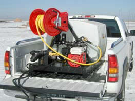 deicer trailer skid