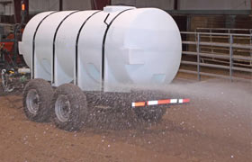 Arena Water Sprayer Trailer
