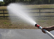 Argo Water Buffalo Trailers Come With A 25' Fire Hose