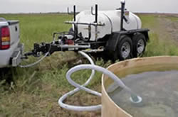 800 gallon water trailer