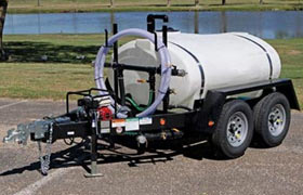 500 gallon express water trailer