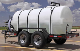 1025 Gallon Express Water Trailer