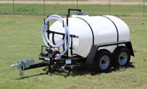 800 gallon potable water trailer specifications