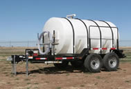1600 gallon potable water trailer specifications