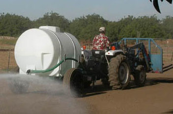 Portable Water Trailers are versatile for use in many situations