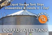 Corrugated Steel Water Tanks
