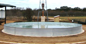 open top corrugated tanks