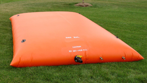 Mars Pillow Tanks for grey water collection